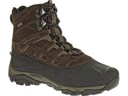 """Merrell Moab Polar 6"""" Waterproof 400 Gram Insulated Hiking Boots Leather/Synthetic Espresso Men's..."""