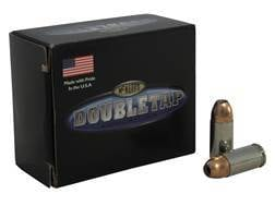 DoubleTap Ammunition 9mm Luger +P 165 Grain Equalizer Jacketed Hollow Point Box of 20