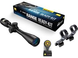 Nikon P-308 Range Ready Kit P-308 Rifle Scope 4-12x 40mm BDC Reticle, P-Series Mount and Windmeter