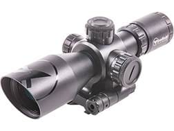Firefield Barrage Rifle Scope 2.5-10x 40mm Illuminated Mil-Dot Reticle with Laser Sight and Integ...