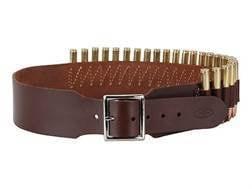 "Hunter Cartridge Belt 2"" Leather"