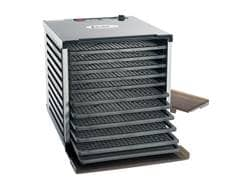 LEM 10 Tray Dehydrator With Digital Timer Aluminum and Polymer