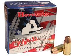 Hornady American Gunner Ammunition 380 ACP 90 Grain XTP Jacketed Hollow Point Box of 25