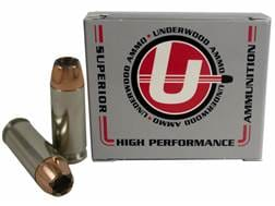 Underwood Ammunition 10mm Auto 180 Grain Bonded Jacketed Hollow Point Box of 20