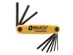 """Bondhus Fold-Up Hex Key Wrench Set 5/64"""" to 1/4"""""""