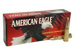 Federal American Eagle Ammunition 7.62x39mm 124 Grain Full Metal Jacket