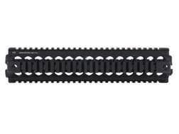 Midwest Industries 2-Piece Gen 2 Handguard Quad Rail Armalite AR-10 Rifle Length Aluminum Black- ...