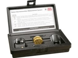 Forster Datum Dial Ammunition Measurement System Complete Kit  in Storage Box