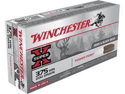Winchester Super-X Ammunition 375 Winchester 200 Grain Power-Point