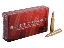 Hornady Superformance GMX Ammunition 5.56x45mm NATO 55 Grain GMX Hollow Point Boat Tail Lead-Free...