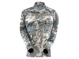 Sitka Gear Youth Core Midweight Mock Shirt Long Sleeve Polyester