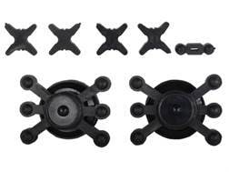 Bowjax Crossbow Silencing Kit for Split Limbs Rubber Black
