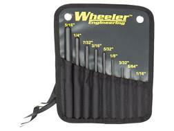 Wheeler Engineering Roll Pin Punch Set Steel
