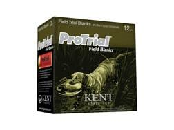 "Kent Cartridge ProTrial Field Blank Ammunition 12 Gauge 2-1/2"" Smokeless Blank Box of 25"
