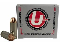 Underwood Xtreme Defender Ammunition 10mm Auto 115 Grain Lehigh Xtreme Defense Lead-Free Box of 20