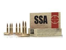 Silver State Armory Ammunition 7.62x39mm 123 Grain Nosler Varmageddon Flat Base Tipped Box of 20