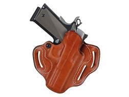 DeSantis Speed Scabbard Belt Holster Right Hand Glock 20, 21 Leather Tan