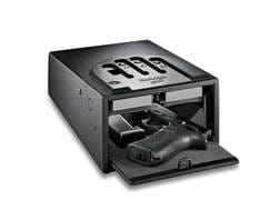 GunVault MiniVault Personal Safe with Biometric Lock Black