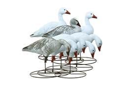 Higdon Full Size Full Body Snow Goose Decoy Polymer Pack of 8