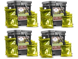 Wise Company 240 Serving Meat Freeze Dried Food Kit