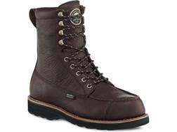 "Irish Setter 808 Wingshooter 9"" Waterproof Hunting Boots Leather Brown Men's"