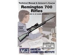"American Gunsmithing Institute (AGI) Technical Manual & Armorer's Course Video ""Remington 700 Rif..."