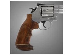 Hogue Fancy Hardwood Grips with Accent Stripe and Top Finger Groove Taurus Medium and Large Frame...