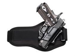 Fobus Evolution Ankle Holster Right Hand 1911 Officer, Browning Hi-Power Kahr K9, K40, P9, P40, P...