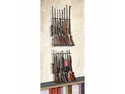 Rack'Em Racks 16 Rifle Double Decker Vertical Rifle Display 2-Rifle Barrel Rests and 1-Buttstock ...