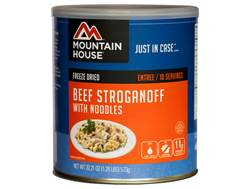 Mountain House Beef Stroganoff with Noodles Freeze Dried Food #10 Can