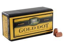 Speer Gold Dot Bullets 45 ACP Short Barrel (451 Diameter) 230 Grain Bonded Jacketed Hollow Point ...