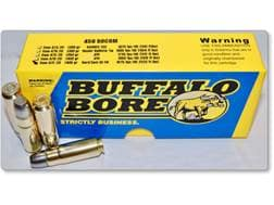 Buffalo Bore Ammunition 458 SOCOM 405 Grain Hard Cast Gas Check Flat Nose Box of 20
