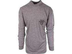 Military Surplus Army Physical Training T-Shirt Grade 1 Long Sleeve West Point Emblem Gray XL