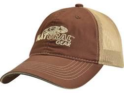 Natural Gear Mesh Back Logo Cap Polyester