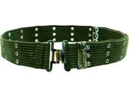 Military Surplus Belgian Combat Belt Grade 2 Olive Drab