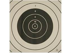 NRA Official High Power Rifle Targets Repair Center SR-3C 300 Yard Rapid Fire Paper Package of 100