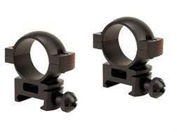 """Tasco 1"""" Weaver-Style Rings Matte High"""