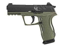 Gamo C-15 Bone Collector Blowback Air Pistol 177 Caliber BB and Pellet Green and Black Frame