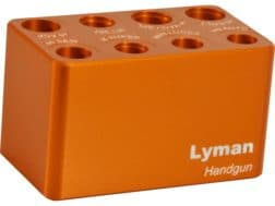 Lyman Multi-Caliber Handgun Ammo Checker Cartridge Gauge 380 ACP, 9mm Luger, 38 Super, 40 S&W, 45...