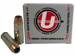 Underwood Ammunition 10mm Auto 165 Grain Bonded Jacketed Hollow Point Box of 20