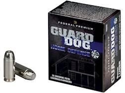 Federal Premium Guard Dog Home Defense Ammunition 9mm Luger 105 Grain Expanding Full Metal Jacket