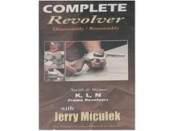 "Gun Video ""Complete Disassembly & Reassembly: S&W K, L, N Frame Revolvers with Jerry Miculek"" DVD"