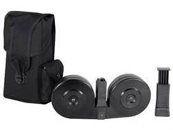 Beta C-Mag Magazine System AR-15 9mm Luger 100-Round Drum Polymer Black