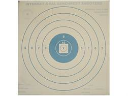 National Target International Bench Rest Shooters Target IBS 1000 YD Bench Rest Paper Package of 50