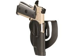 BLACKHAWK! Standard CQC Paddle Holster Right Hand H&K USP Compact 9mm, 40 S&W Barrel Polymer Black