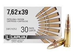 Lapua Ammunition 7.62x39mm 123 Grain Full Metal Jacket Box of 30