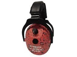 Pro Ears ReVo Youth & Women Electronic Earmuffs (NRR 25dB) Pink Rain