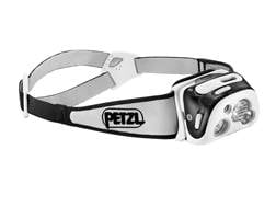 Petzl Reactik + Reactive Lighting Bluetooth Headlamp LED with Rechargeable Li-Ion Battery Polymer...