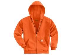 Carhartt Men's Midweight Zip-Front Hooded Sweatshirt Cotton/Polyester