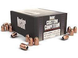 Nosler Custom Competition Bullets 9mm (355 Dia) 147 Grain Jacketed Hollow Point Box of 250